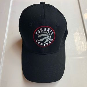 Accessories - Toronto Raptors Baseball Cap in Black